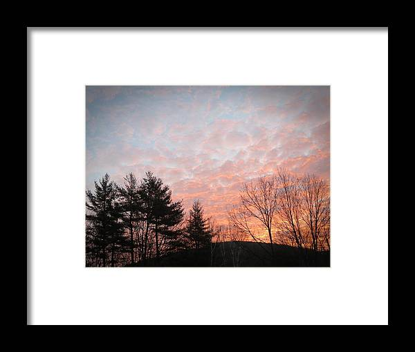 Landscape Framed Print featuring the photograph Sunrise Mountain by MTBobbins Photography