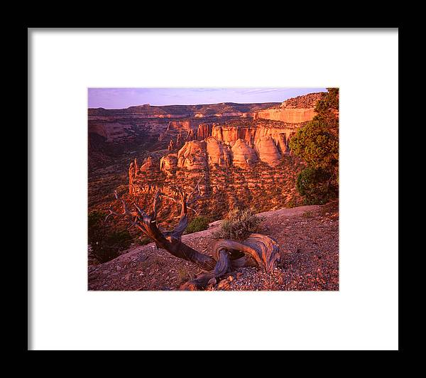 National Park Framed Print featuring the photograph Sunrise On The Coke Ovens by Ray Mathis