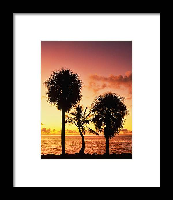 America Framed Print featuring the photograph Sunrise Over Florida Bay by David Davis