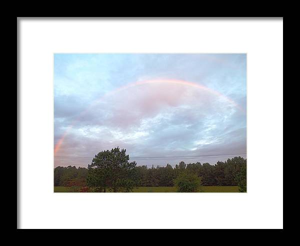 Nature Framed Print featuring the photograph Sunrise Promise by Peggy King