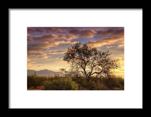 Sunrise Framed Print featuring the photograph Sunrise Serenity by Saija Lehtonen