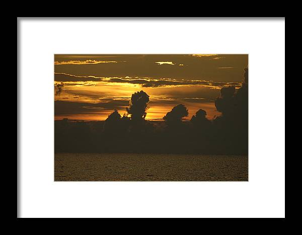 Sunset Framed Print featuring the photograph Sunset 2 by Carol Unglaub