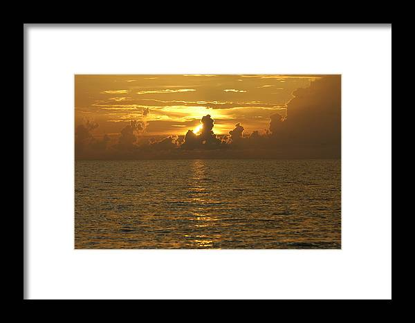 Sunset Framed Print featuring the photograph Sunset 3 by Carol Unglaub