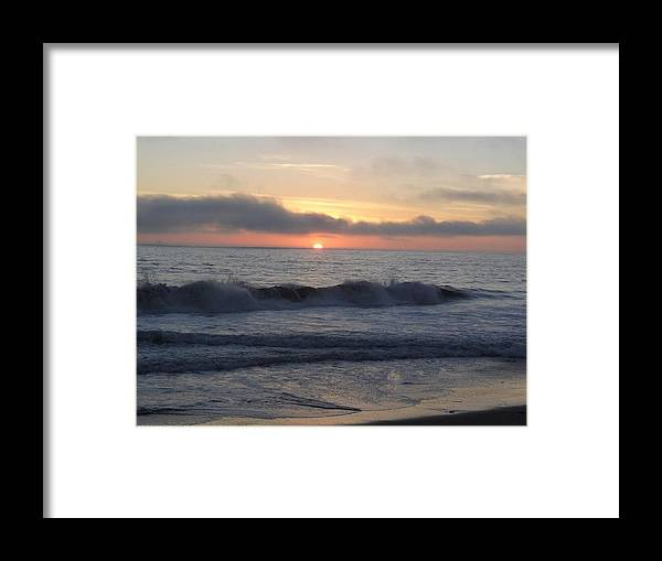 Nature Framed Print featuring the photograph Sunset by Anandi Godse