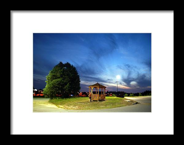 Sunset Framed Print featuring the photograph Sunset At Midlands Tech by William Copeland
