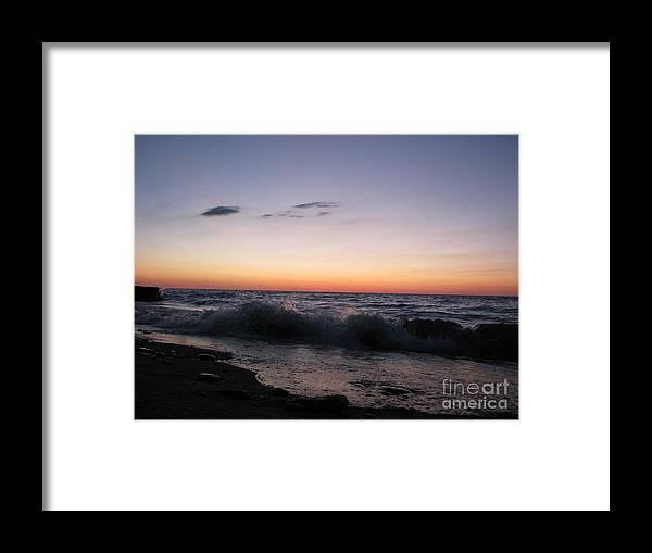 Sunset Framed Print featuring the photograph Sunset II by Michael Krek