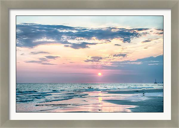 Sunset on Florida Beach by Alex Grichenko
