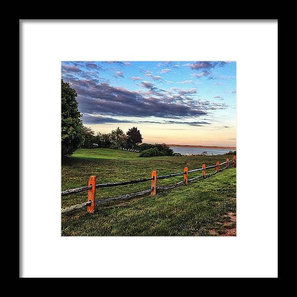 Gopro Framed Print featuring the photograph Sunset On The Nauset Marsh. #cape by Luke Foley