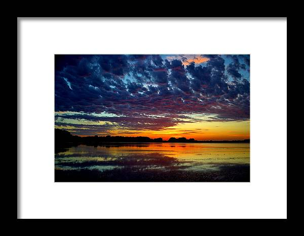 Sunset Framed Print featuring the photograph Sunset by Ronald Goode