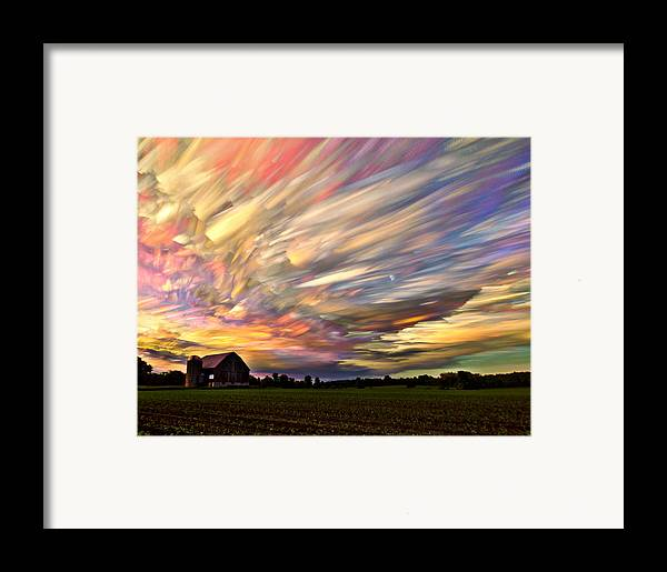 Matt Molloy Framed Print featuring the photograph Sunset Spectrum by Matt Molloy