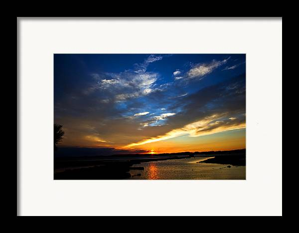 Photography Framed Print featuring the photograph Sunset by Tim Buisman
