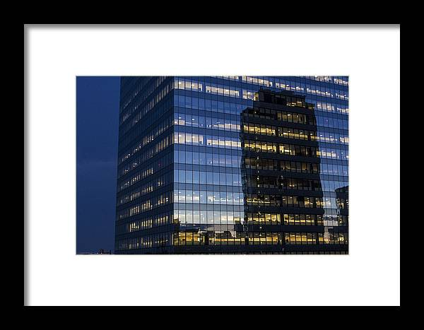 Building Framed Print featuring the photograph Sunset Tower 1 by Colin Pearce
