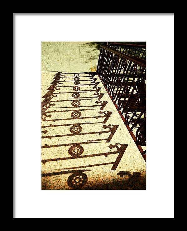 Jersey Framed Print featuring the photograph Sunstairs by JAMART Photography