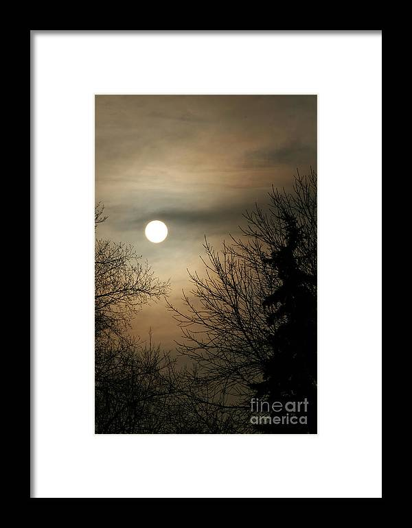 Landscape Framed Print featuring the photograph Super Sunday by Steve Augustin