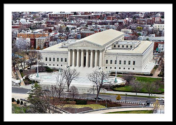 Supreme Court Building by Mitch Cat
