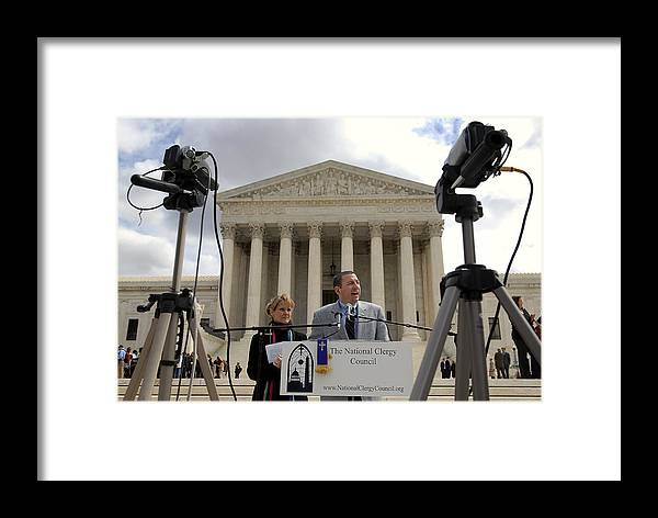 Supreme Court Upholds Ban On Partial Birth Abortion Framed Print