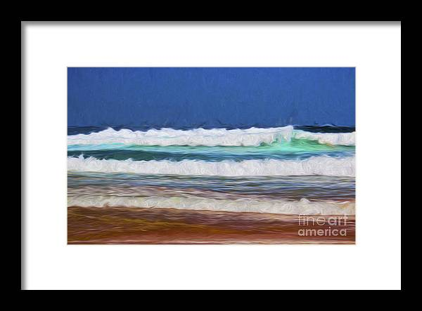 Surf Framed Print featuring the photograph Surfs up by Sheila Smart Fine Art Photography
