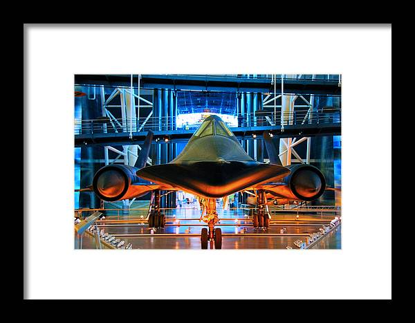 Sr-71 Framed Print featuring the photograph Surprise by Mitch Cat