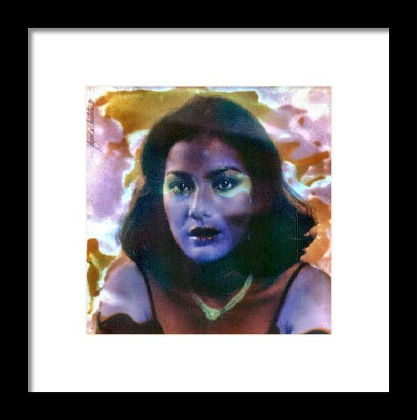 Susan Framed Print featuring the photograph Susan 1978 by Glenn Bautista