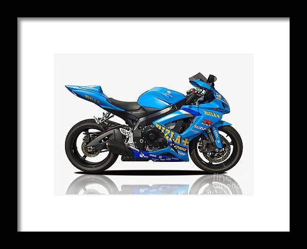 Suzuki Framed Print featuring the photograph Suzuki by Carl Shellis