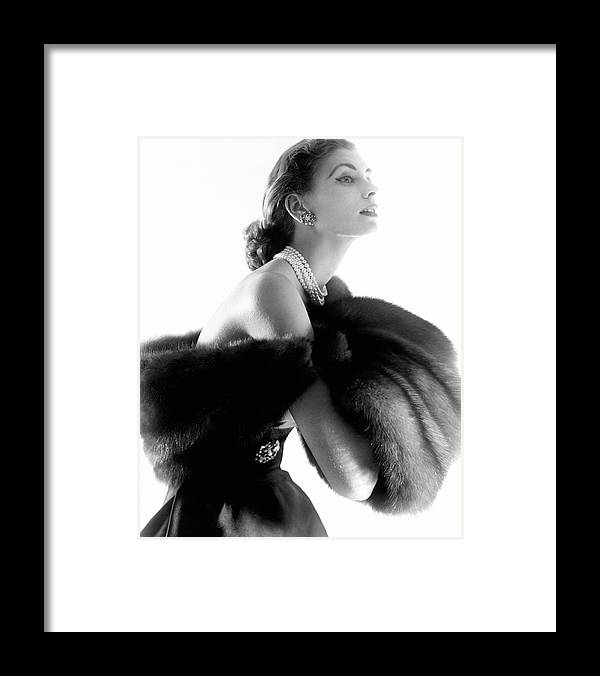 Personality Framed Print featuring the photograph Suzy Parker by Horst P. Horst