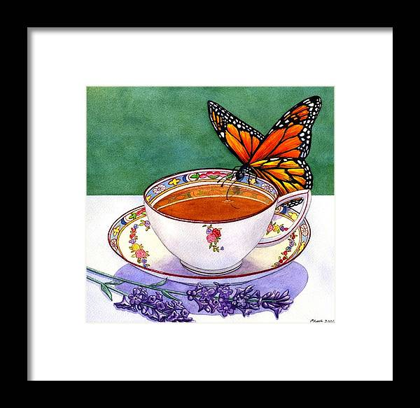 Butterfly Framed Print featuring the painting Sweet by Catherine G McElroy
