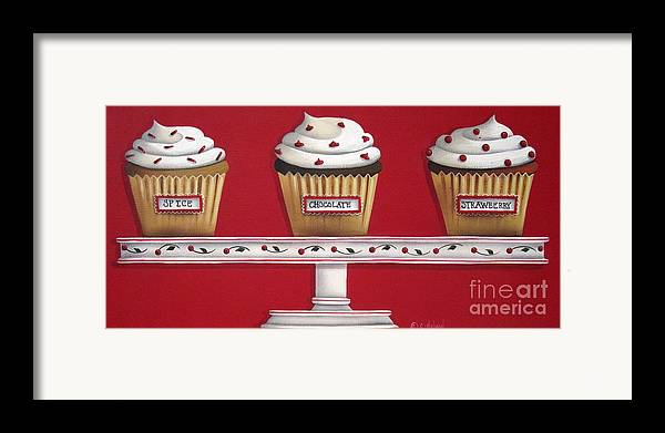 Art Framed Print featuring the painting Sweet Delights by Catherine Holman
