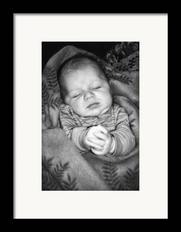 Baby Framed Print featuring the photograph Sweet Dreams by Susan Leggett