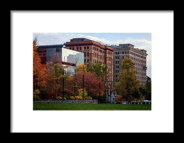 Buildings Framed Print featuring the photograph Sweet Light In Philly by Michelle Brixius-Kasich