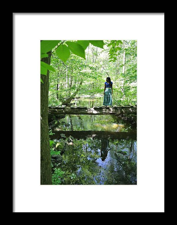 Nature Framed Print featuring the photograph Sweet Reflections by Amy Renne