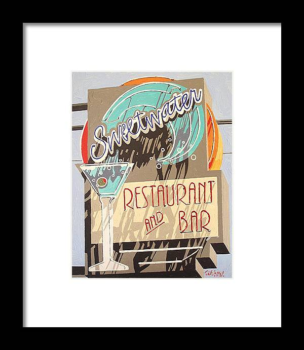 Sacramento Framed Print featuring the painting Sweetwater by Paul Guyer