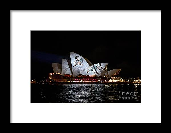 Sydney Opera House Framed Print featuring the photograph Sydney Opera House Iv by Ray Warren
