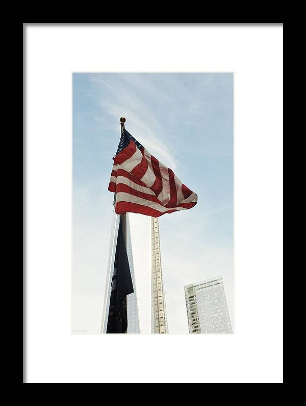 Wtc Framed Print featuring the photograph Symbols by Rob Hans