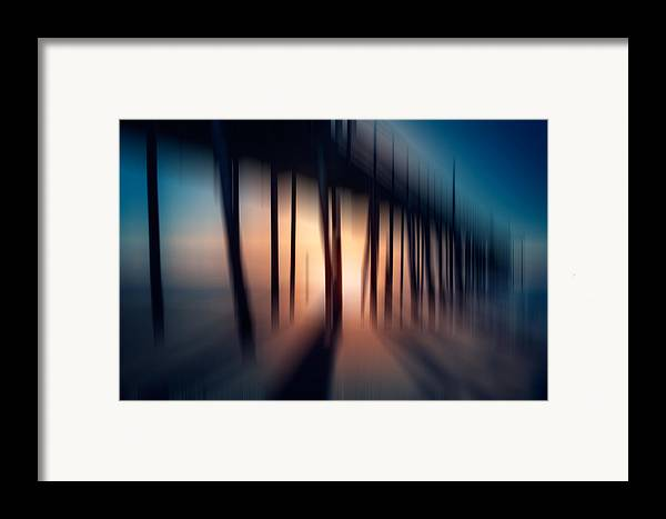 Outer Banks Framed Print featuring the photograph Symphony Of Shadow - A Tranquil Moments Landscape by Dan Carmichael