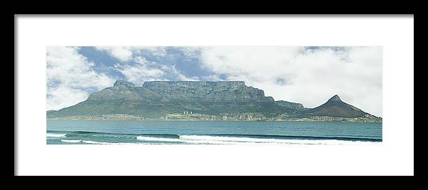 Cape Town Framed Print featuring the photograph Table Mountain by Tom Hudson