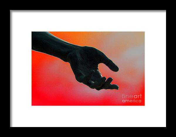 Hand Framed Print featuring the photograph Take It by Joe Geraci
