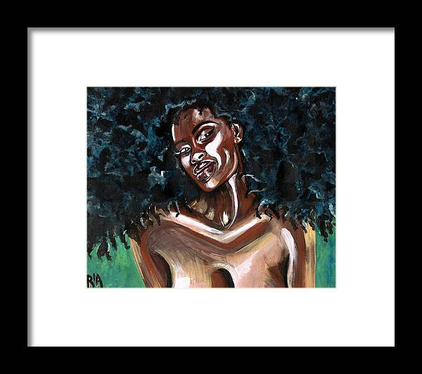 Sexy Framed Print featuring the photograph Take Me as I AM -or have nothing at all by Artist RiA