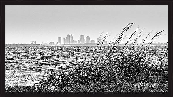 Tampa Across The Bay by Marvin Spates