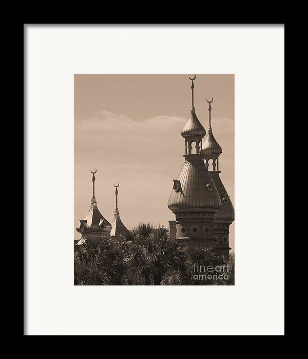 Tampa Framed Print featuring the photograph Tampa Minarets by Carol Groenen