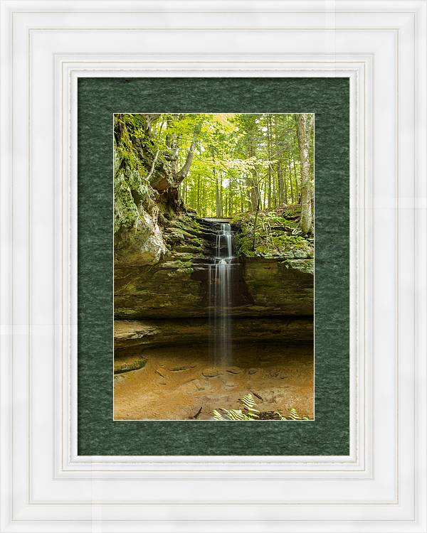 Tannery Falls by Jill Laudenslager