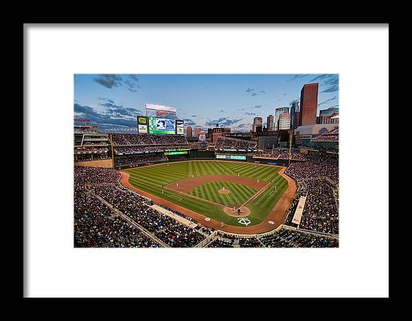 Mark Whitt Framed Print featuring the photograph Target Field by Mark Whitt