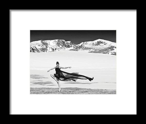 Ballerina Framed Print featuring the photograph Taylor by Gene Rodman