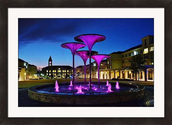 TCU Frog Fountain by John Ferris