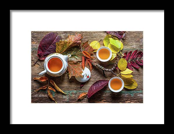 Fall Framed Print featuring the photograph Tea Of September by Stanislav Aristov