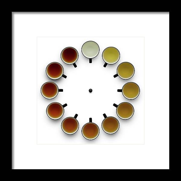 Tea Framed Print featuring the photograph Tea Time by Wieteke De Kogel