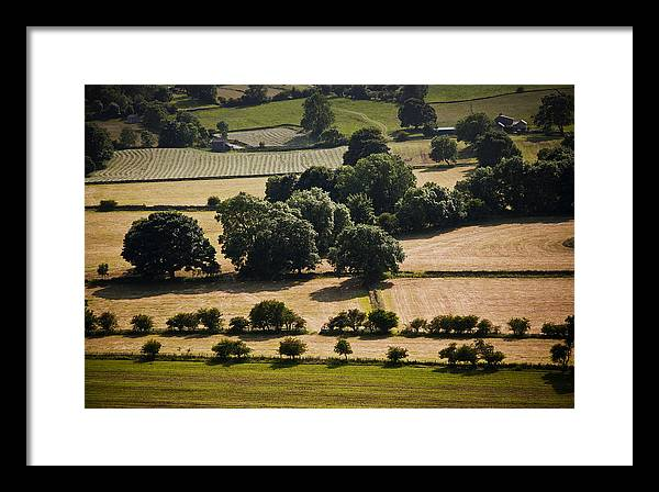 Uk Framed Print featuring the photograph Teesdale Summer by Geoff Evans