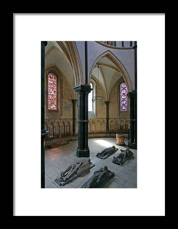 Templar Framed Print featuring the photograph Templar Knights Temple Church London by Mathew Lodge