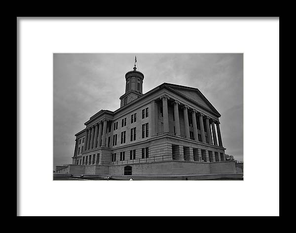 Nashville Framed Print featuring the photograph Tennessee State Capitol Building by Steven Richman