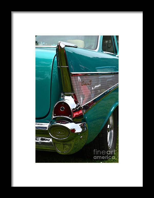1957 Framed Print featuring the photograph Terra Nova High School by Dean Ferreira