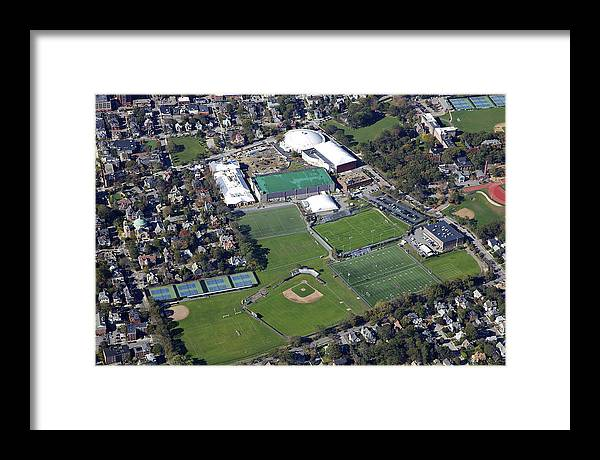 America Framed Print featuring the photograph Terrence Murray Baseball Stadium by Dave Cleaveland